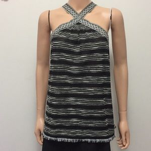 Vince Camuto Boho Halter Top/Swimsuit cover up(XL)